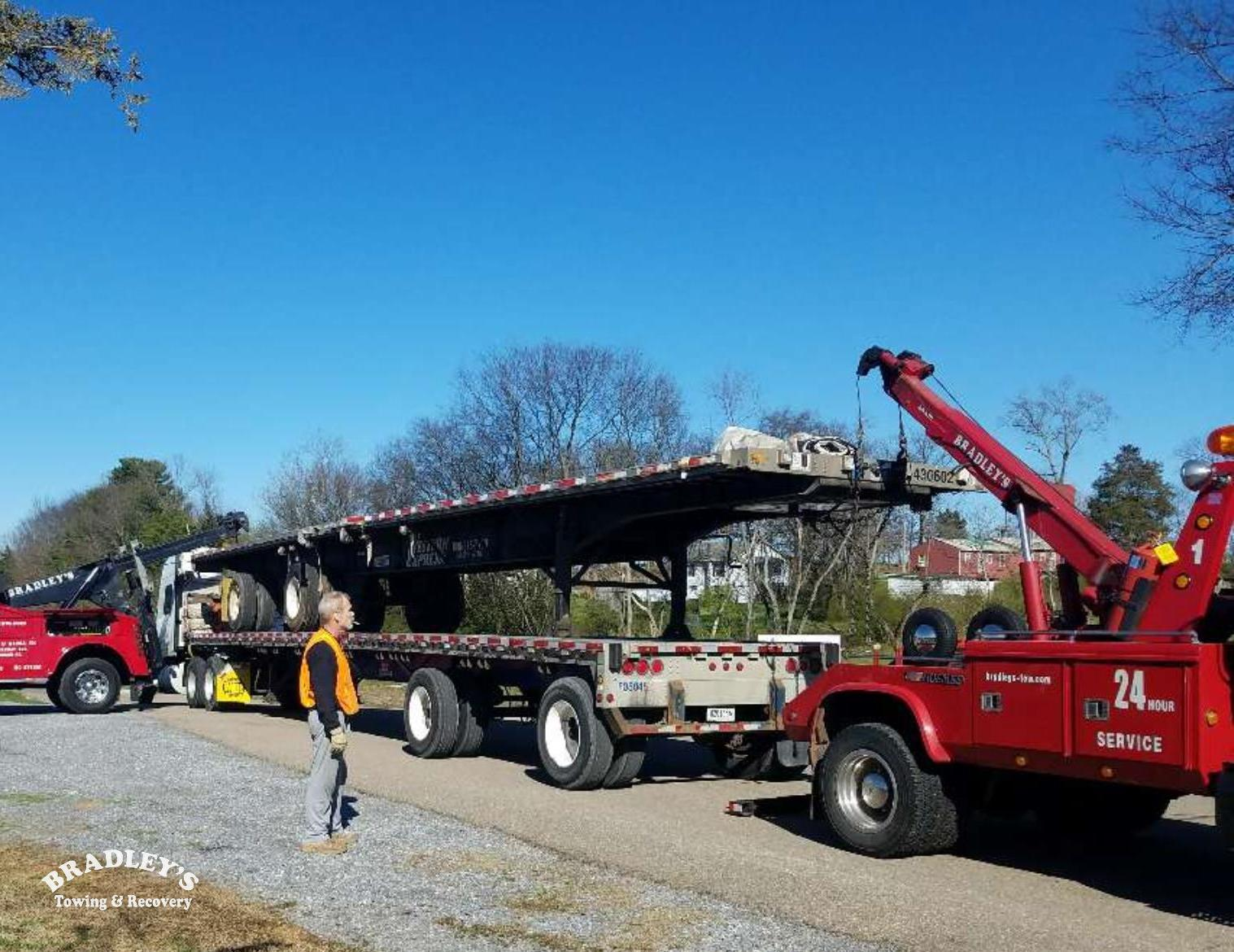 Bradley S Towing Recovery Heavy Duty Towing